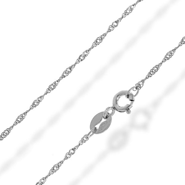 Plain Necklace Chain D - 20cm