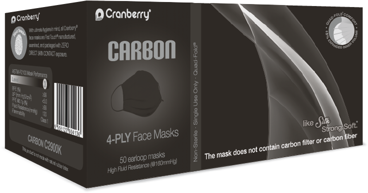 CRANBERRY CARBON NITRILE GLOVES- 200 COUNT/BOX