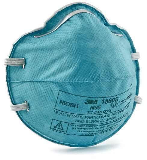 N95 Healthcare Respirator *NIOSH/CDC Approved* 3M 1860S (Small) - Box of 20