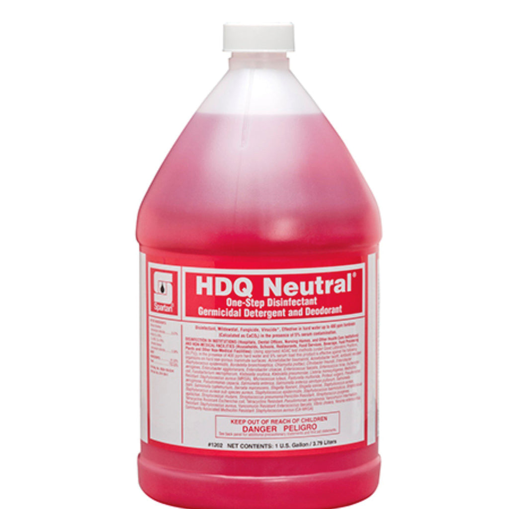 HDQ Concentrated Disinfectant - Makes 128 Gallons