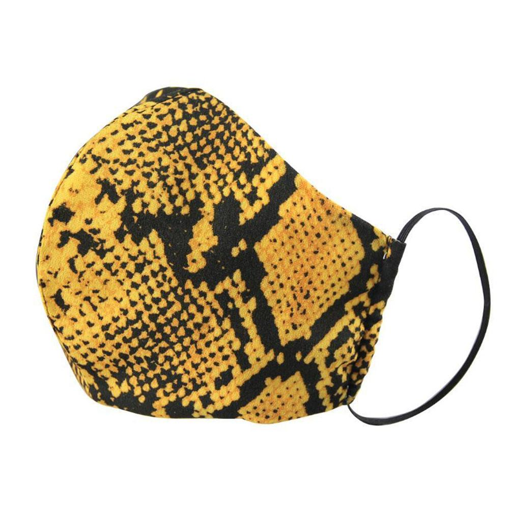 Serpentine Fashion Mask -  Different Colors Available