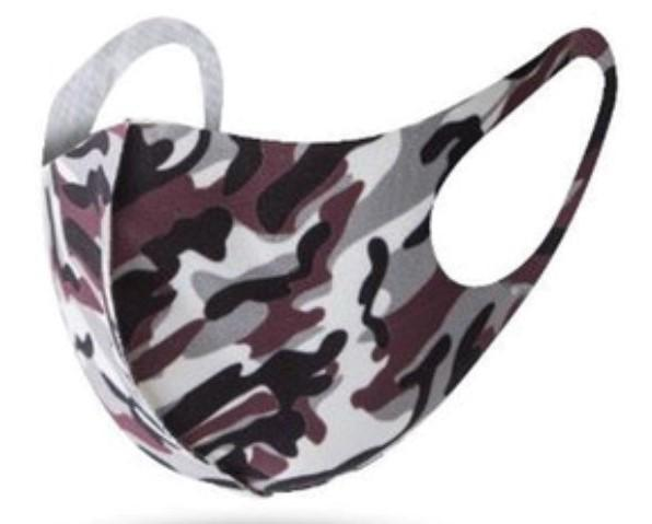 Fashion Mask - Camoflauge (Different Colors Available)