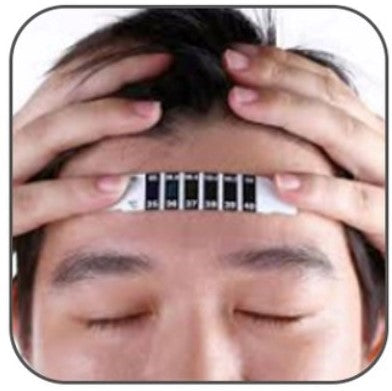 Forehead Thermometer Sticker - 10 PCS