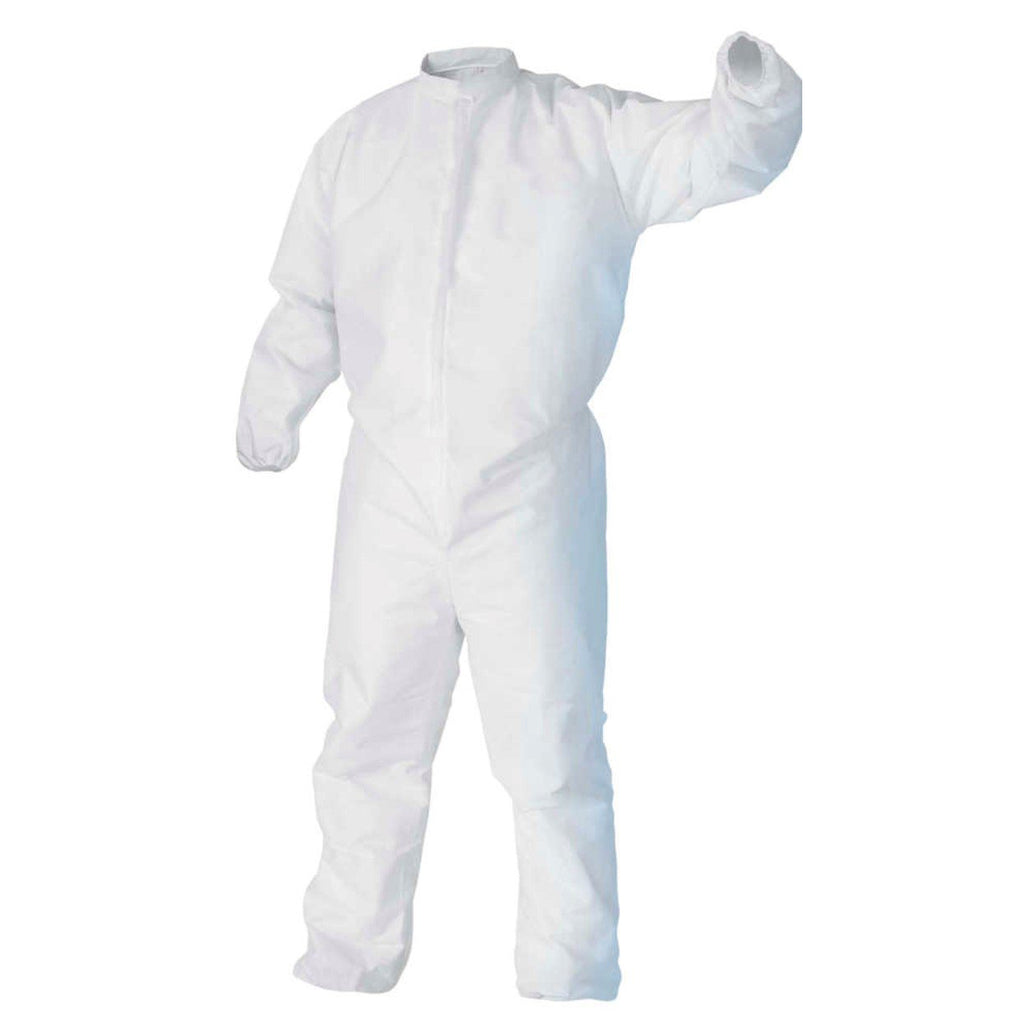 Microporous Zip Coverall - No Hood
