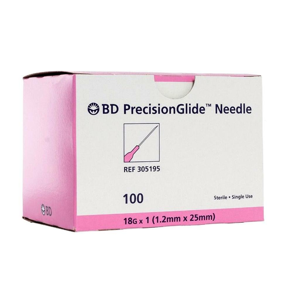 Precision Glide Needle - 18G x 1 1/2 - 100 count