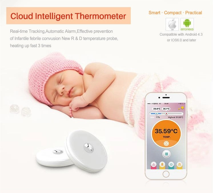 Cloud Intelligent Pediatric Thermometer