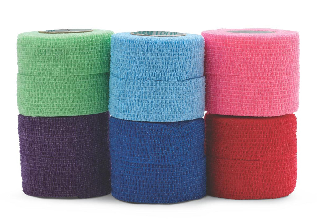 Cohesive Bandage - 1 roll - various colors