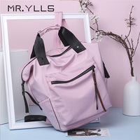 Nylon Waterproof Backpack Large Capacity Schoolbags