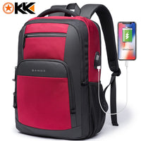 New Large Capacity 15.6 inch Daily School Backpack USB Charging Backpack for Teenager