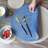 Table Mats Coasters Hot Pad  Round Table Mat Stand for Mugs