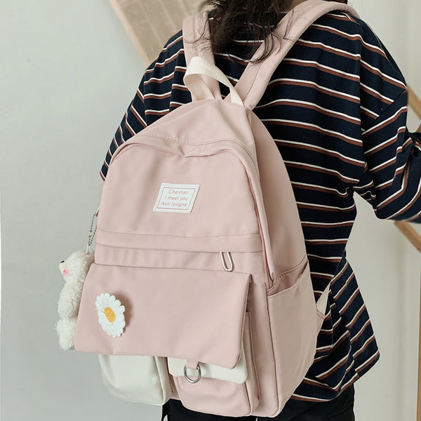Cute Backpack for College Student Ladies