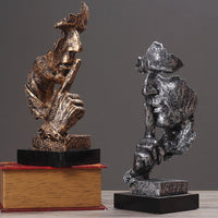 Resin Abstract Sculpture Figurine Home Decoration
