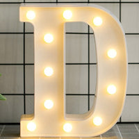 Luminous LED Letter Night Light English Alphabet Number