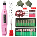 Portable Electric Nail Drill Machine