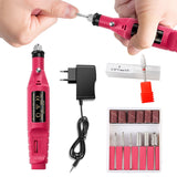 Professional Electric Nail Drill Machine Manicure Machine Pedicure Drill Set