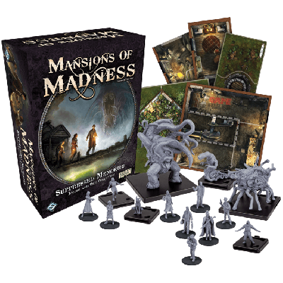 Mansions Of Madness 2nd Edition: Suppressed Memories Expansion