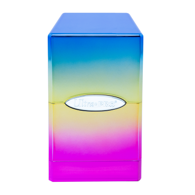 Ultra Pro Hi-Gloss Rainbow Satin Tower