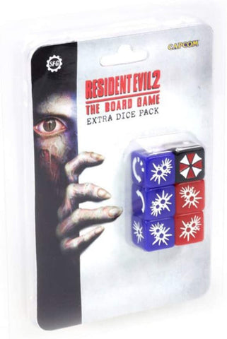 Resident Evil 2: The Board Game - Extra Dice Pack