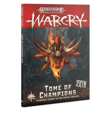 Age Of Sigmar: Warcry Tome Of Champions 2019 (English)