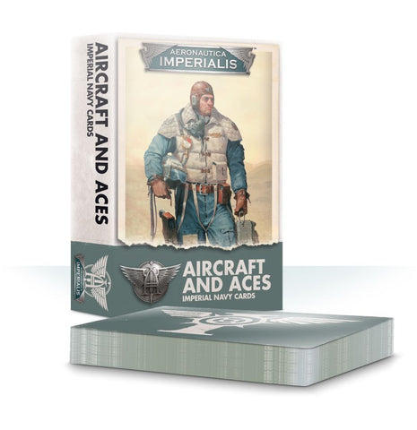 Aeronautica Imperialis Aircraft And Aces: Imperial Navy Cards