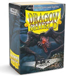 Dragon Shield Black Matte Black Sleeves 100-CT