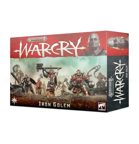 Age Of Sigmar: Warcry Iron Golems