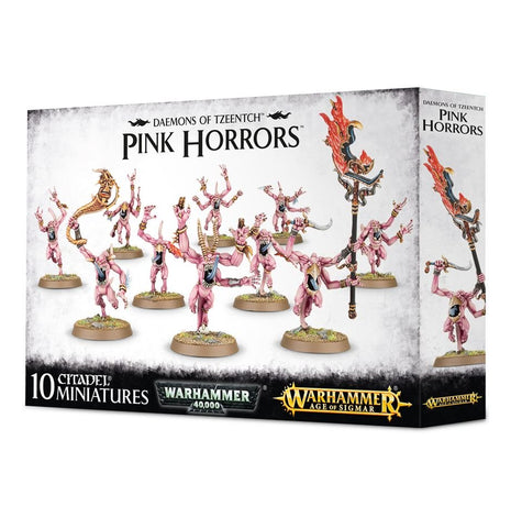 Daemons of Chaos Pink Horrors