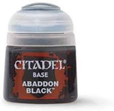 Base: Abaddon Black (12ml)