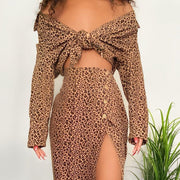 Womens Fashion Leopard romper suit RY65