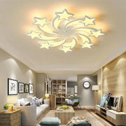 LEDs Chandelier Modern stars For Living Room Bedroom remote/APP support Home design chandelier  model