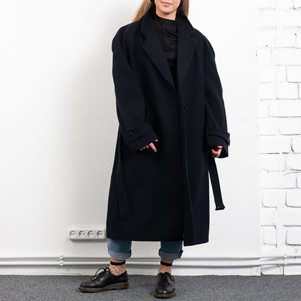 Women's Fashion Casual Solid Color Loose Coat ywy23