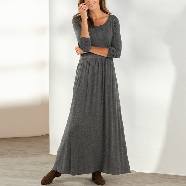 Fashionable elegant loose dress