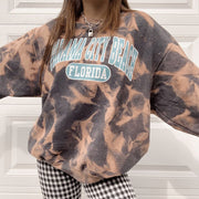 Women's Fashion Loose Print Sweatshirt RY53