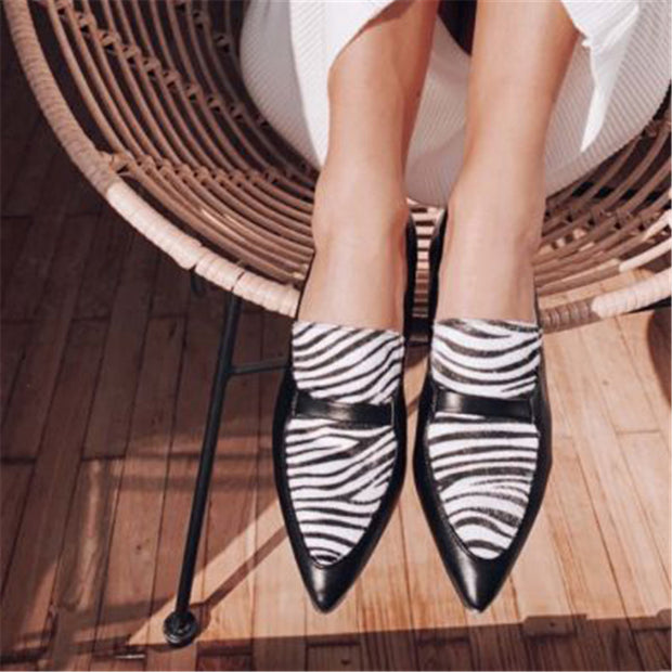 2020 new low-heeled shallow mouth casual single shoes