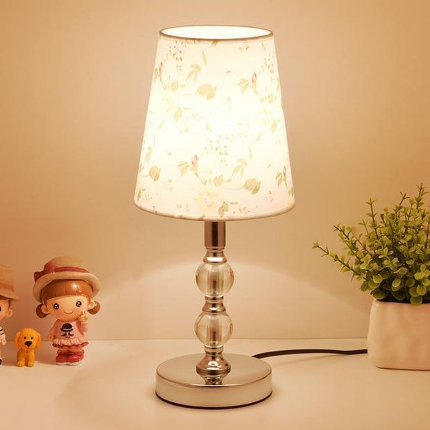 Table Lamp Crystal Bedside Lamp Nordic Mini LED Desk Lamp For Bedroom Living Room Baby Room Bookcase