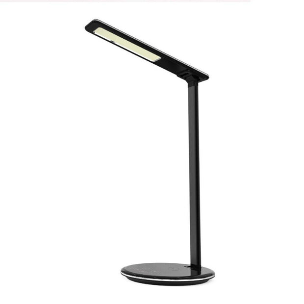 Wireless Charging LED Table Desk Lamp 48pc LEDS USB Port Reading Lamp Brightness Adjustable Eye-protect 4 Modes Table Lamp