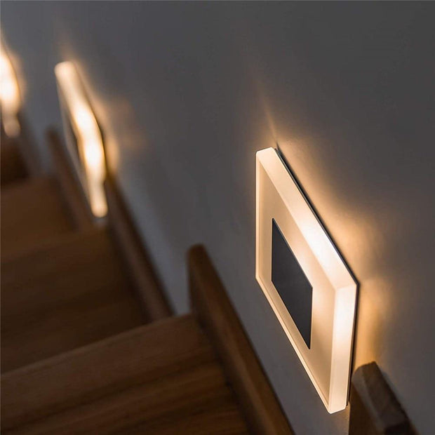 LED wall light acrylic wall sconce Embedded footlight Indoor Stair step decorative night lights Modern led wall lamp