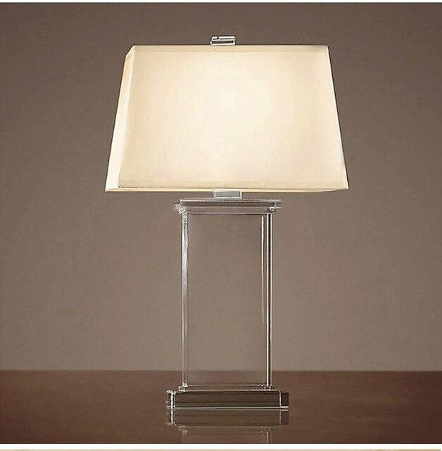 Contemporary Minimalist Style LED Table Lamps Luxury K9 Crystal Table Lamp Living Room Study Lamp