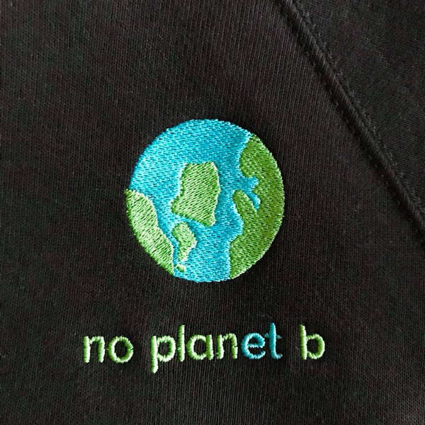 No Panet B embroidered sweatshirt for adults and children