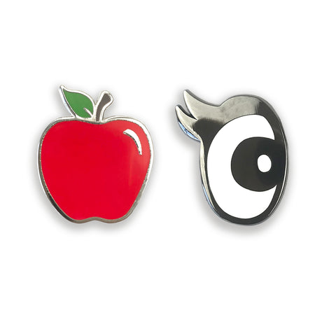 Apple Of My Eye Enamel Pin Set - Auntie Mims