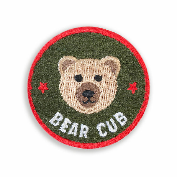Merit Patch Awards For Grown Ups And Little People - BEAR CUB - Auntie Mims
