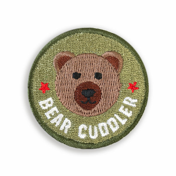 Merit Patch Awards For Grown Ups And Little People - BEAR CUDDLER - Auntie Mims