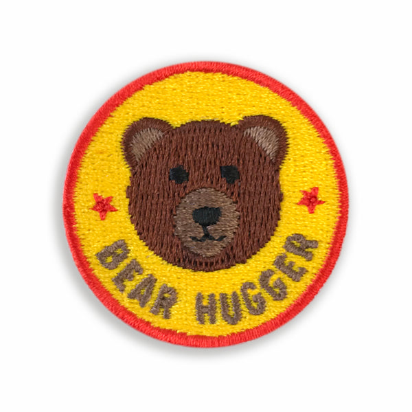 Merit Patch Awards For Grown Ups And Little People - BEAR HUGGER - Auntie Mims