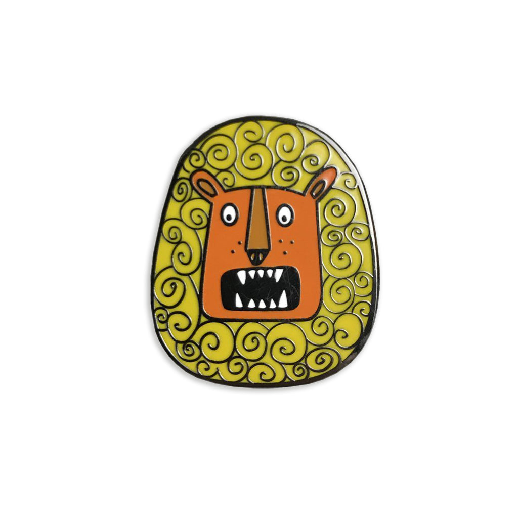 Rory the Roaring Lion Enamel Pin - Auntie Mims