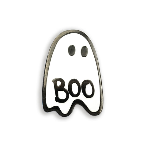 Ghost Enamel Pin - Auntie Mims