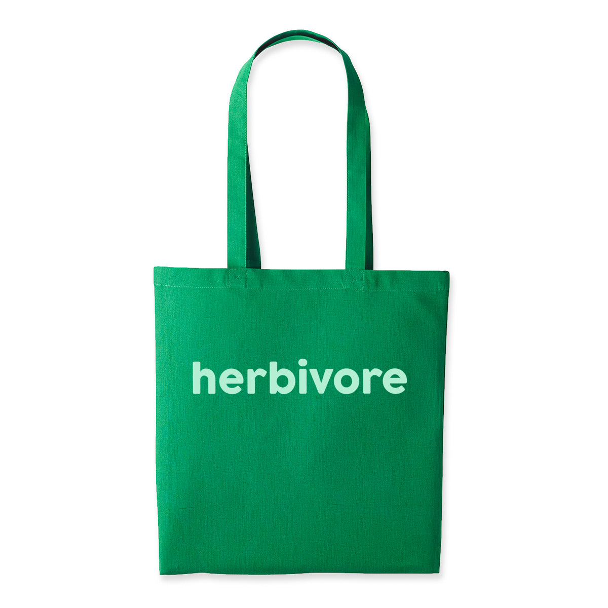 Herbivore Screen Printed Cotton Tote Bag
