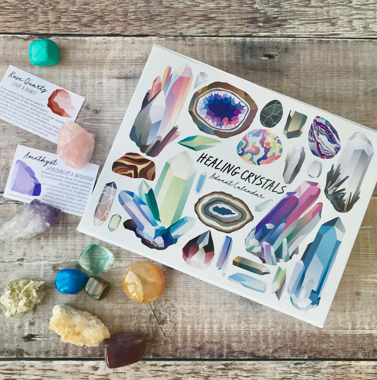 Healing Crystal Advent Calendar PRE-ORDER FOR 2021