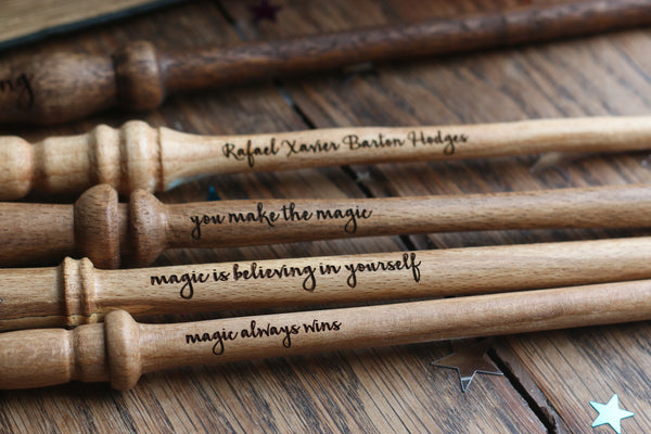 Personalised Wand - Engraved Wands