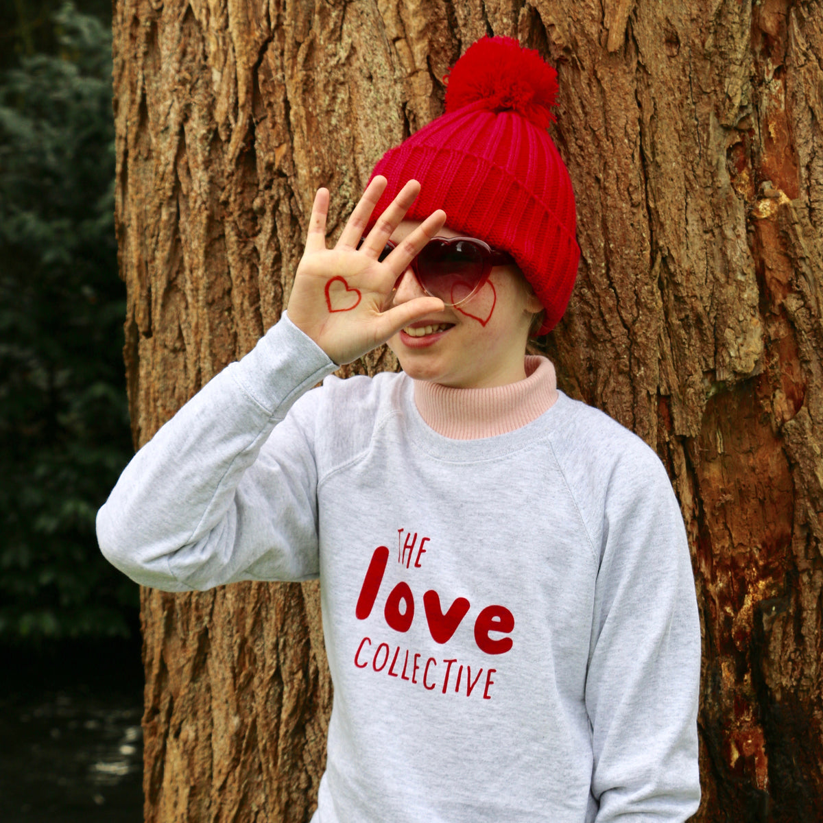 The Love Collective Child's Screen Printed Sweatshirt