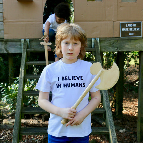 I Believe in Humans Childs Tee